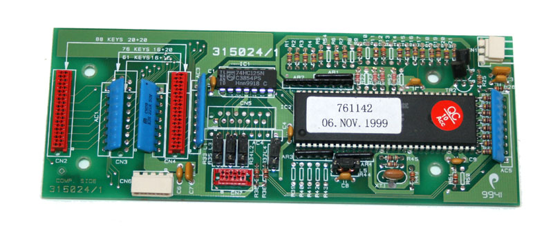 Keyboard processor board, GEM