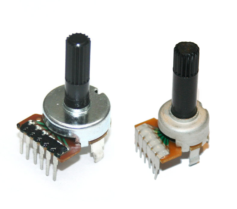 Potentiometer, 50KBx2 rotary