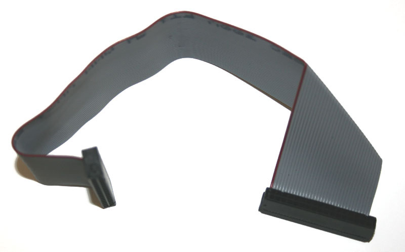 Ribbon cable, 12-inch, 34-pin