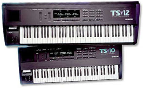 Ensoniq TS-10 and TS-12 Keyboards
